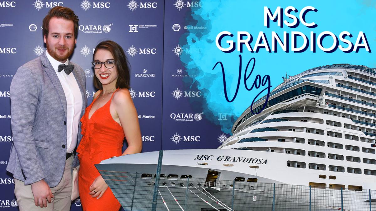 MSC Grandiosa Vlog - Taufe in Hamburg - MSC Kreuzfahrten